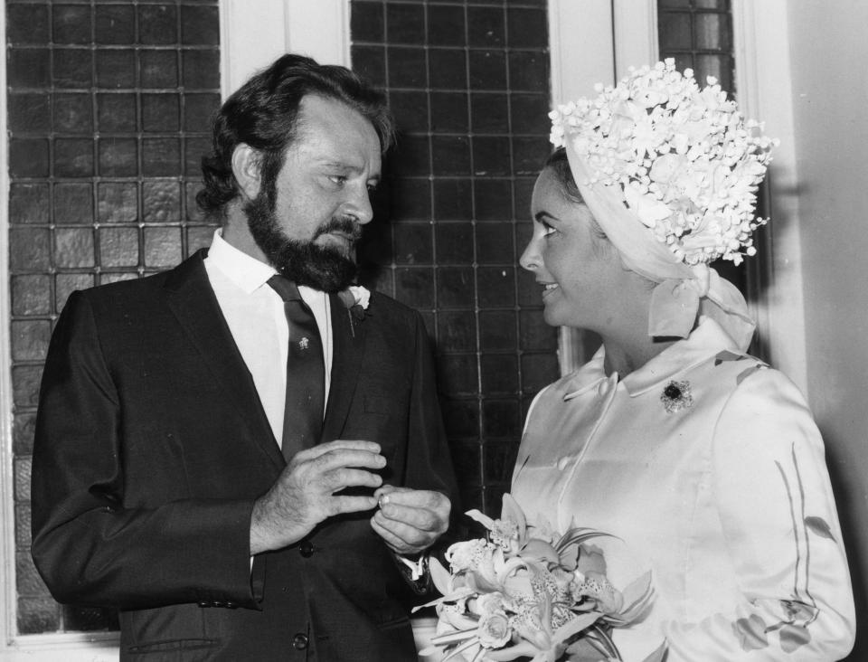 Елизабет Тейлър и Ричард Бъртън