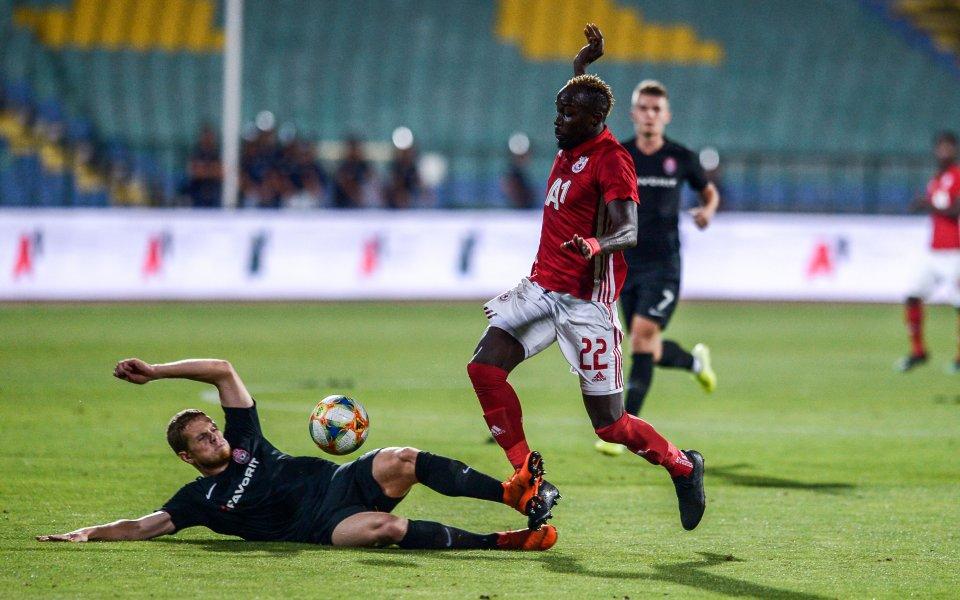 Без късмет и след скандално съдийство ЦСКА е аут от Европа
