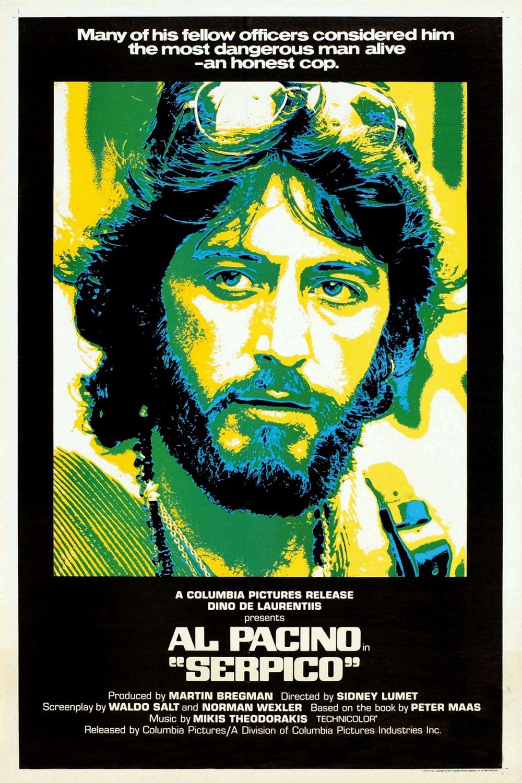 <p>Serpico / &bdquo;Серпико&ldquo; &ndash; 1973; Режисьор: Сидни Лъмет; Участват: Ал Пачино, Джон Кийхо, Джон Рандолф</p>