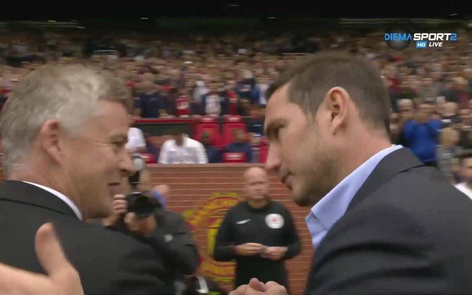 Снимка: Първото дерби за сезона в Англия е факт - Ман Юнайтед и Челси