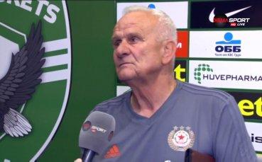 Петрович гневен: Не знам как издържат играчите