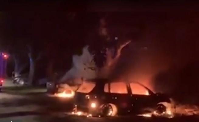 Подпалиха колите на бивш общински служител в Козлодуй