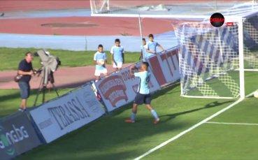 Ахмедов откри резултата за Дунав срещу Витоша
