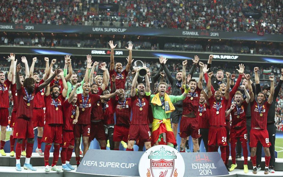 Ливърпул спечели Суперкупата на Европа за 2019 година, след като