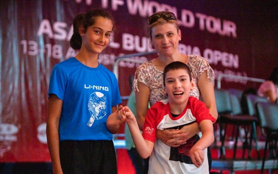 Турнирът по тенис на маса в Панагюрище е от световно
