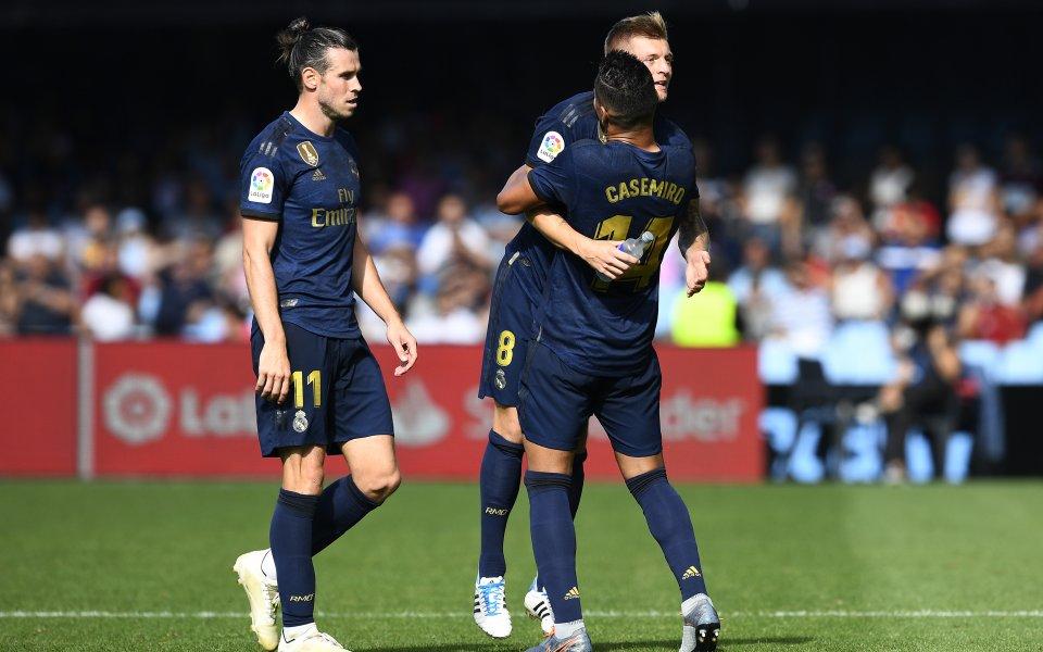 Реал забрави лошото лято и си го изкара на Селта навън