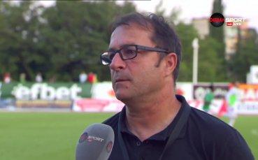 Петрович: Не вярвам, че нашите играчи продават мачове