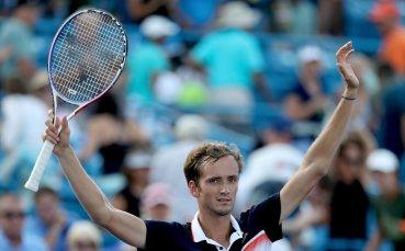 Даниил Медведев триумфира в Синсинати