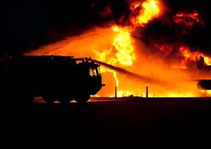 Голям пожар край Анталия