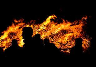 Ново огнище на пожара в Реброво