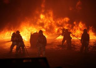 Среднощен пожар в Асеновград
