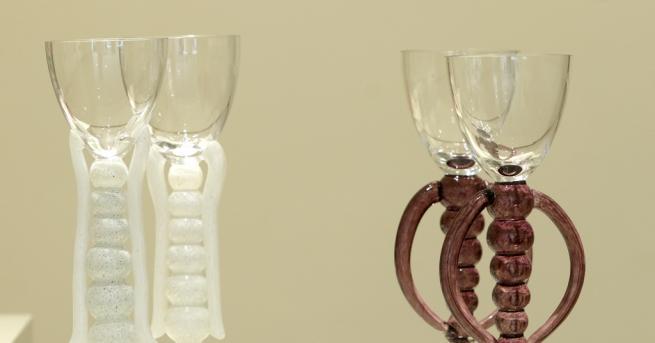 Любопитно Художничката Веси Гекова представя стъкло, произведено по стара италианска