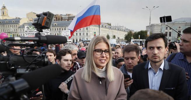 Снимка: Любов Собол - нов лидер на опозицията в Русия