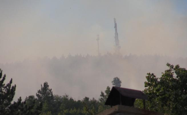 Нов пожар пламна над село Реброво