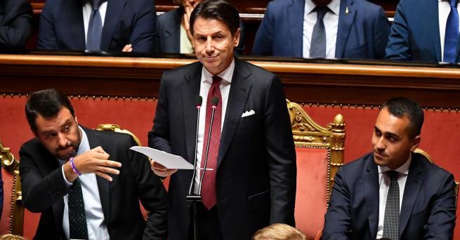 Снимка: Италианският премиер подаде оставка