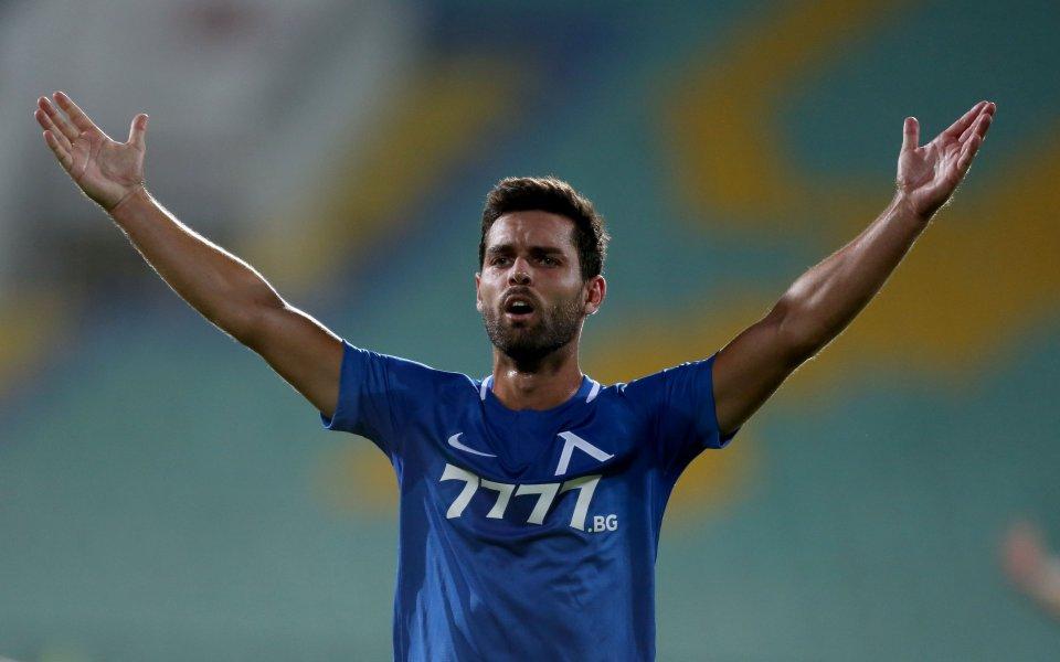 Офанзивният полузащитник на Левски Филипе Нашименто доскоро минаваше за излишен