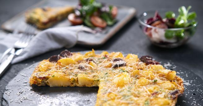 Любопитно Как се прави: Омлет от картофи Интересна испанска рецепта