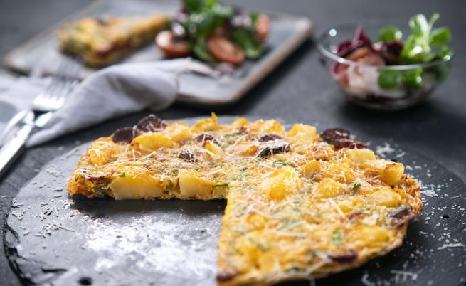 Как се прави: Омлет от картофи