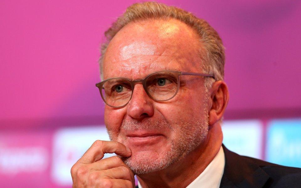 Изпълнителният директор на Байерн Мюнхен Карл-Хайнц Румениге намекна, че Ренато
