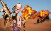 <p><strong>Роботи убийци </strong>заплашват света</p>