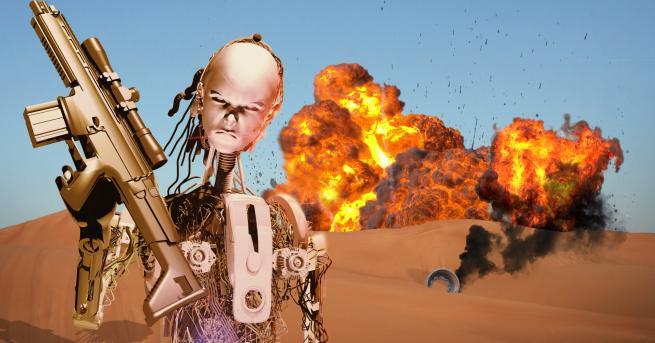 """Технологии Роботи убийци заплашват света """"Защо компании като Амазон и"""