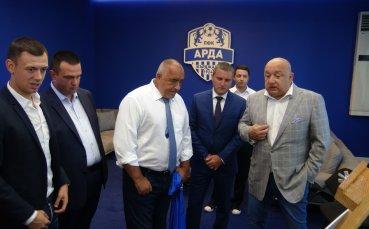 Министър Кралев: Държавата помага на всички отбори, влезли в елита