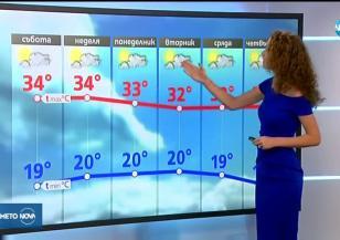 Прогноза за времето (24.08.2019 - обедна емисия)