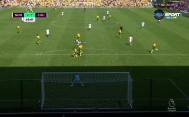 Челси отново води на Норич след втори гол на Тами Ейбрахам