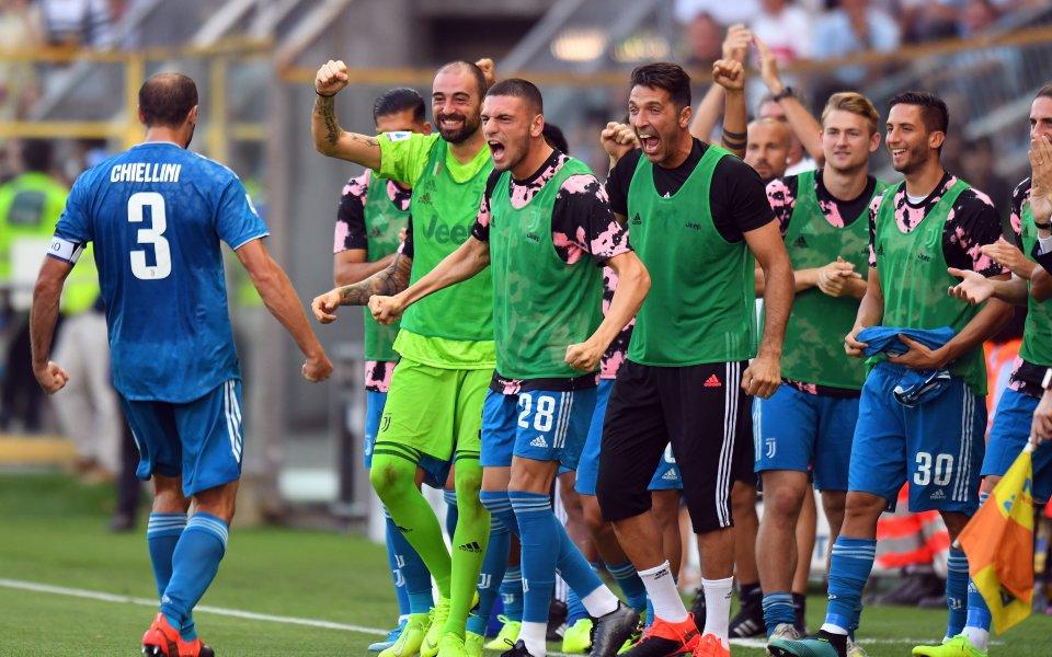 Отборът на Ювентус стартира защитата на титлата си в Серия