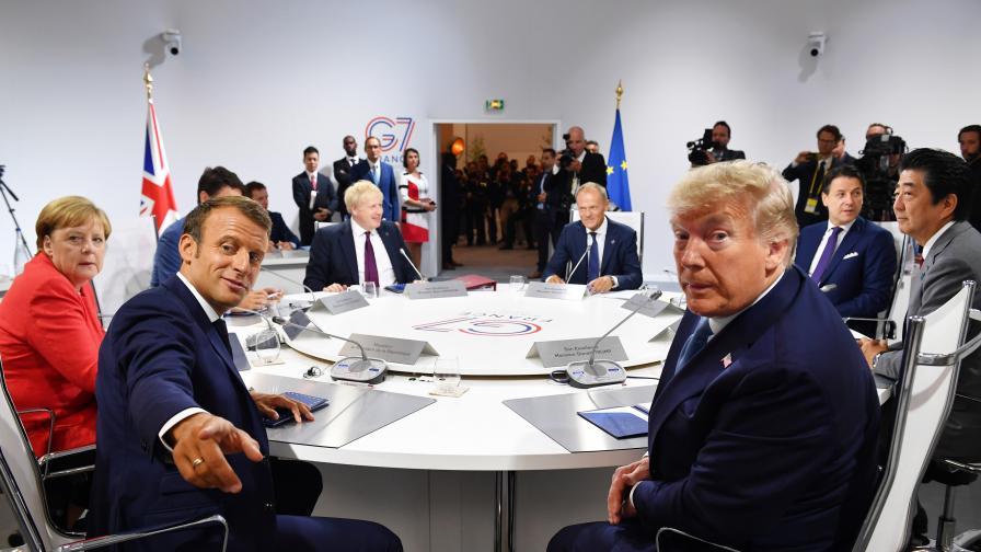 <p>Тръмп след Г7: Мисля, че те уважават търговската война</p>