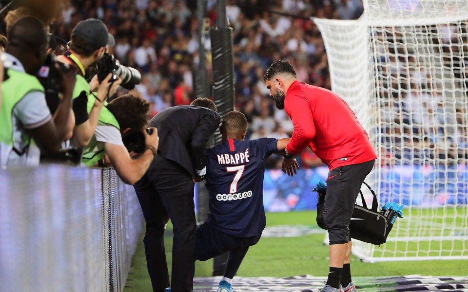 Френският шампион Пари Сен Жермен записа на пръв поглед рутинна