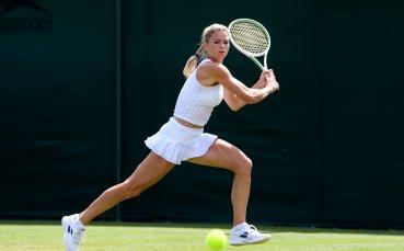 Красива тенисистка радва с красота и визия