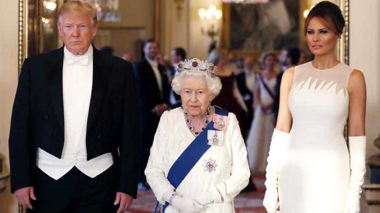 Елизабет Втора кралски посещения