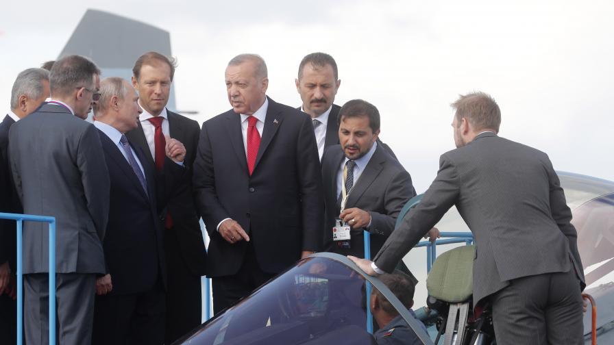 Турция и Русия са близо до сделка за Су-35