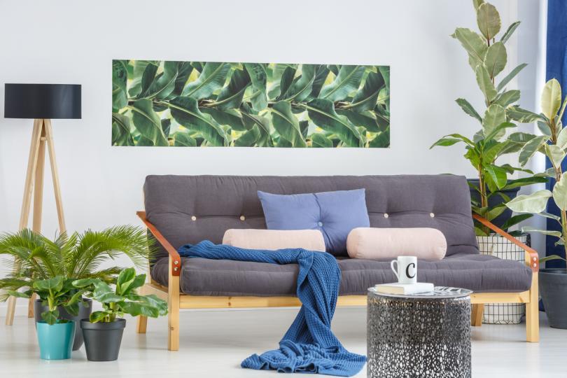 <p>Покани екзотиката у дома с <strong>тропически текстури</strong>, използвани като тапицерия или тапети.</p>