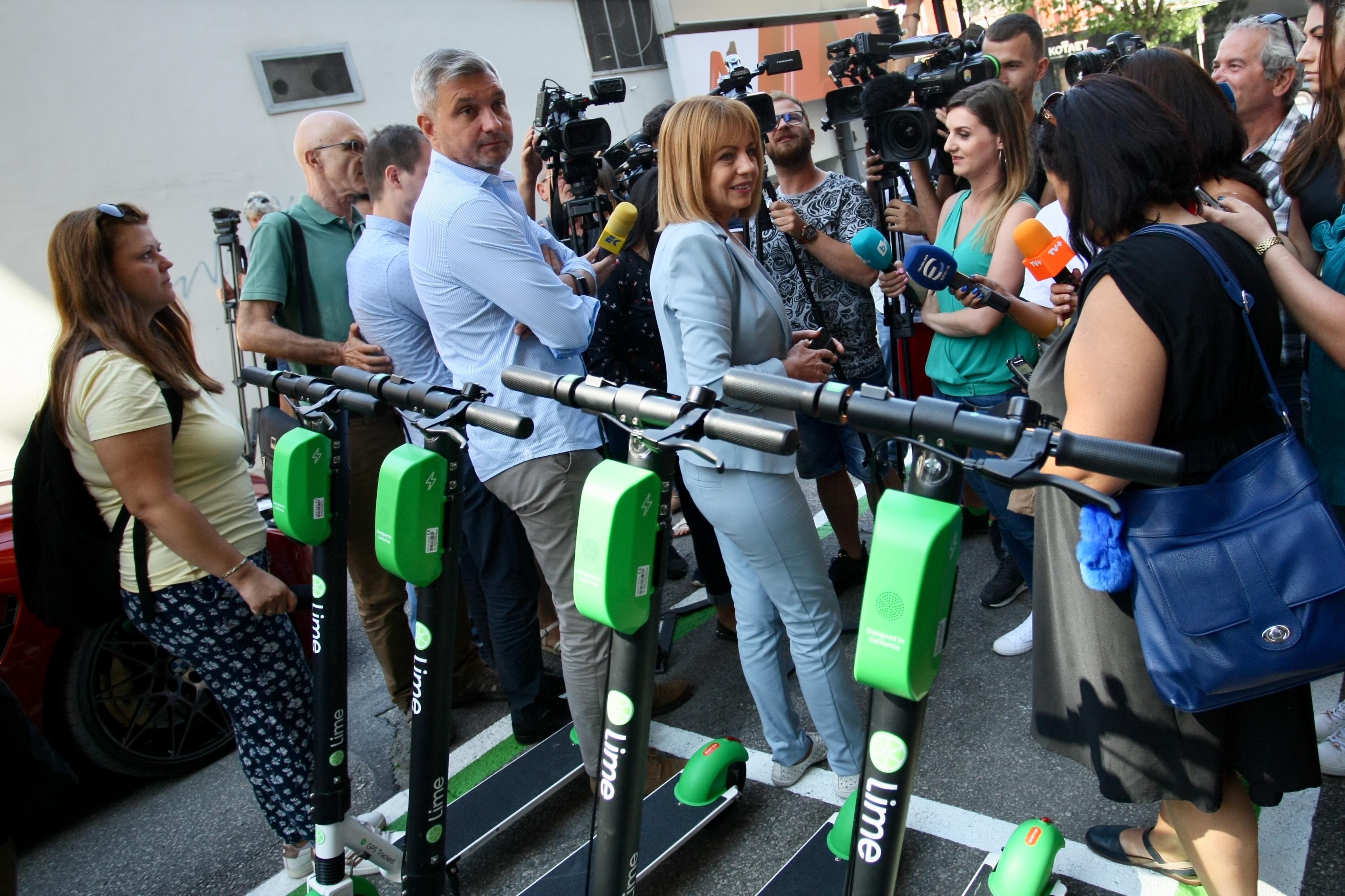 Тя е в подкрепа на засилващия се интерес към алтернативните методи за придвижване в града и е част от стратегията за подобряване качеството на въздуха