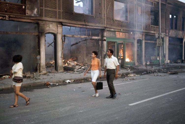Разруха в Детройт