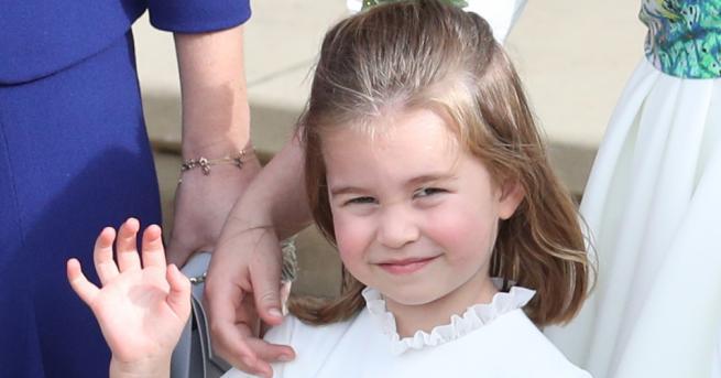 Принцеса Шарлът се подготвя за първия си учебен ден следващата
