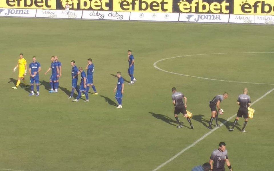 Втородивизионният Локомотив София победи елитния Витоша Бистрица с 4:0 в