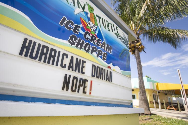 ураган дориан сащ бахами