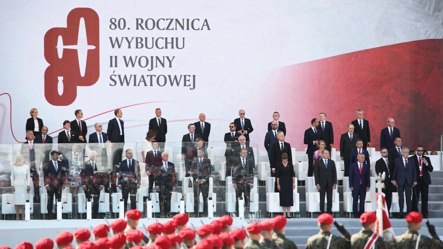<p><strong>Във Варшава</strong>: Германия поиска прошка от Полша&nbsp; &nbsp;</p>