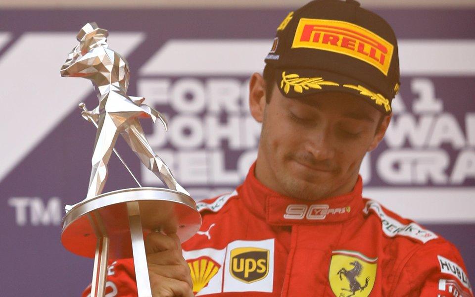 Пилотът на Ферари във Формула 1 – Шарл Льоклер, беше
