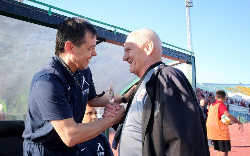 Старши треньорът на ЦСКА - Люпко Петрович, коментира освиркванията от