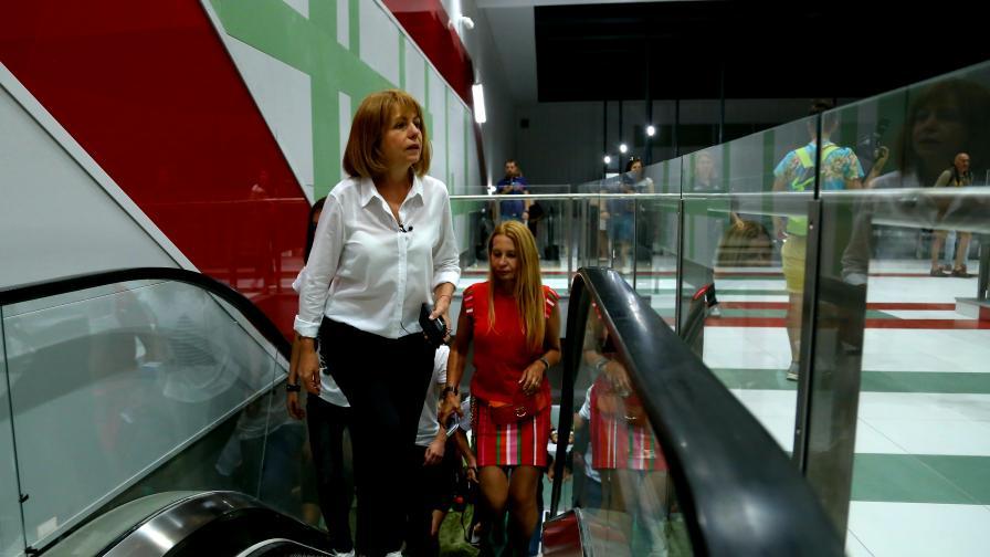 Фандъкова: Кандидатирам се за кмет на София
