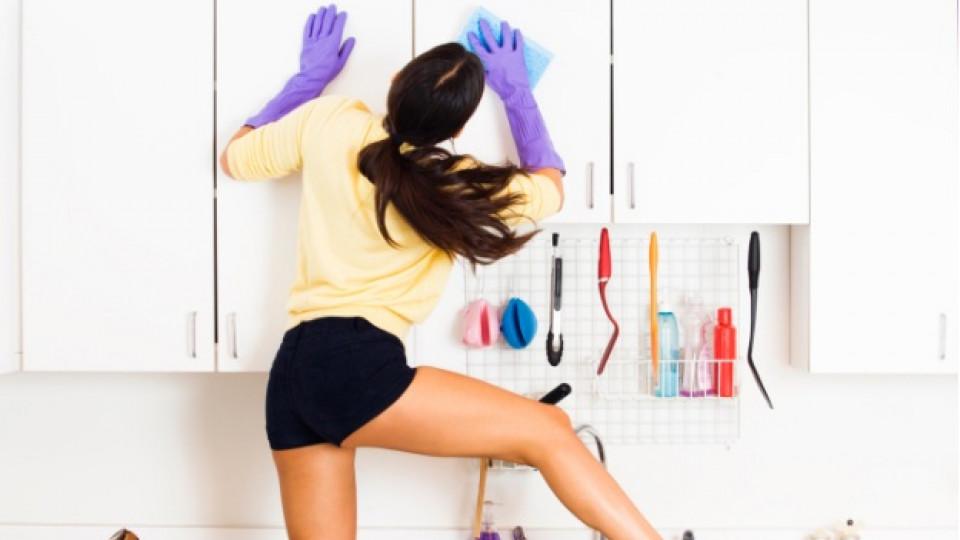 Да почистим петната в кухнята