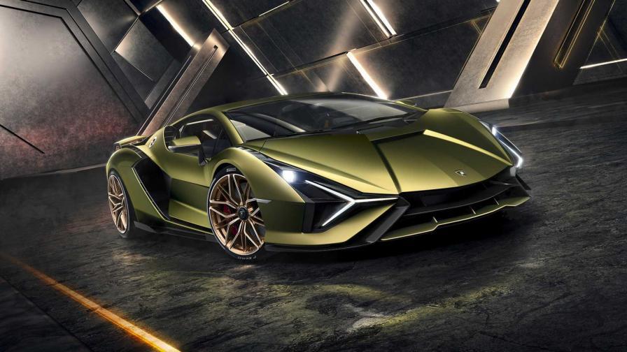 <p>Lamborghini Sian е първият хибрид на марката</p>