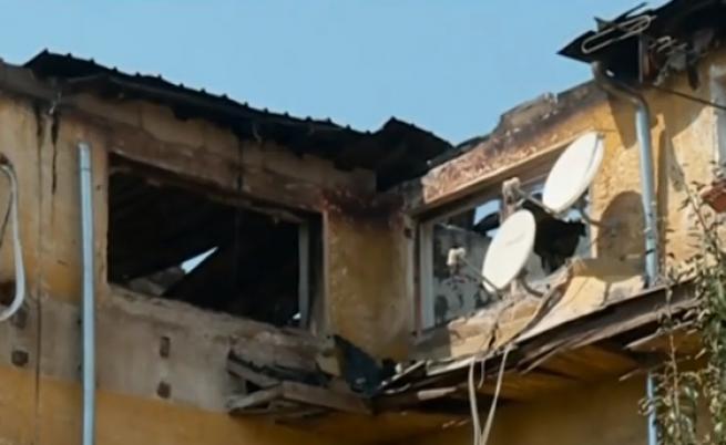 Голям пожар в Бухово остави близо 200 души без дом