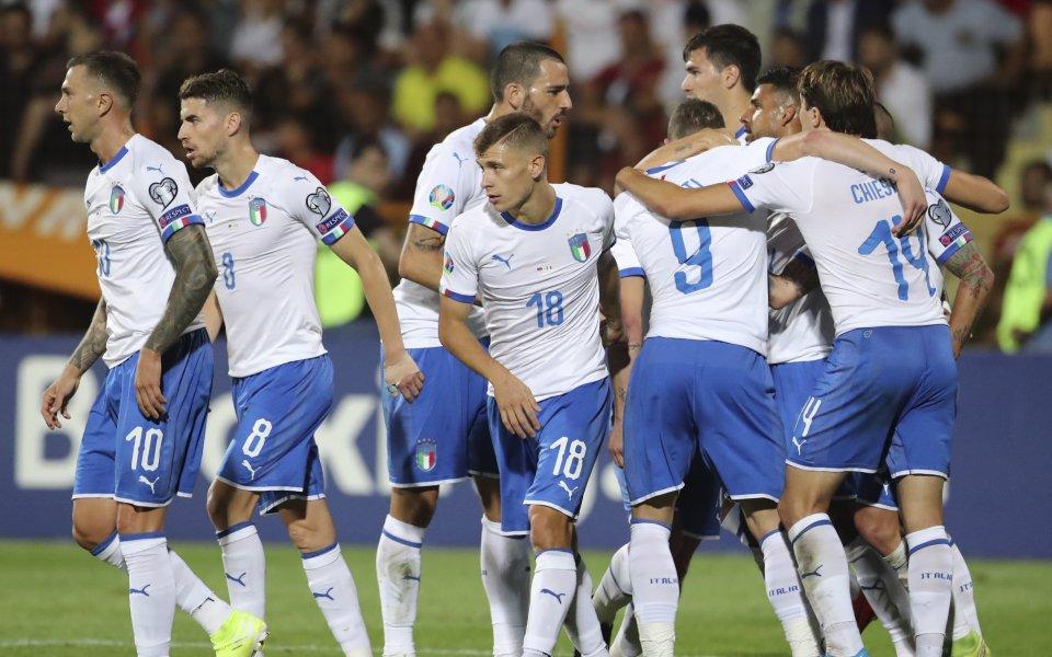 Мъжкият национален отбор на Италия ще излезе със зелени фланелки