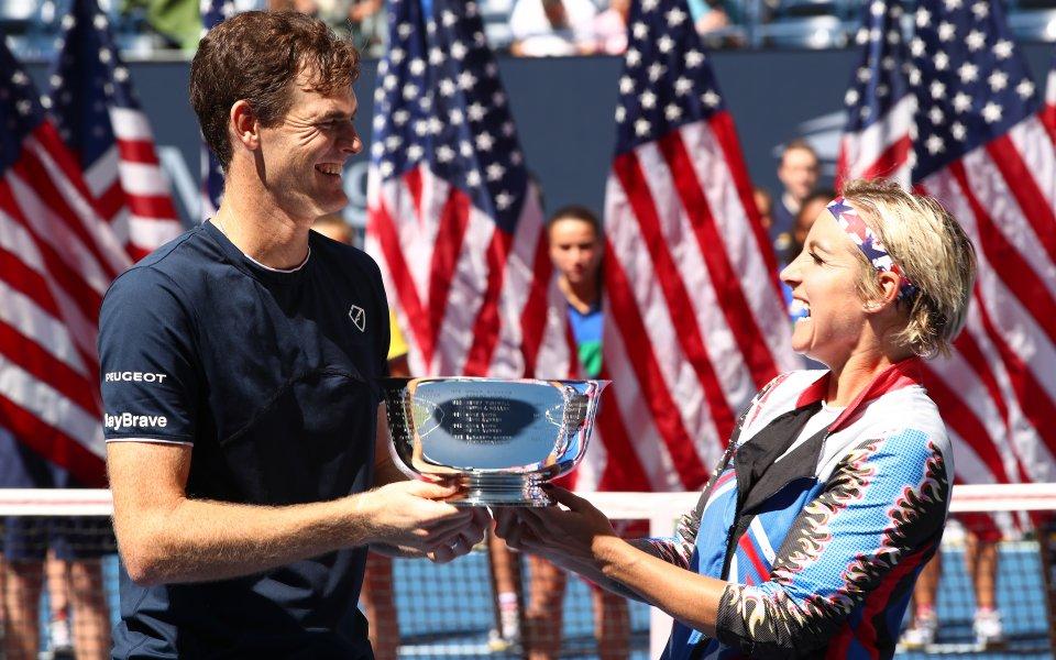 Мъри спечели US Open при смесените двойки с американка