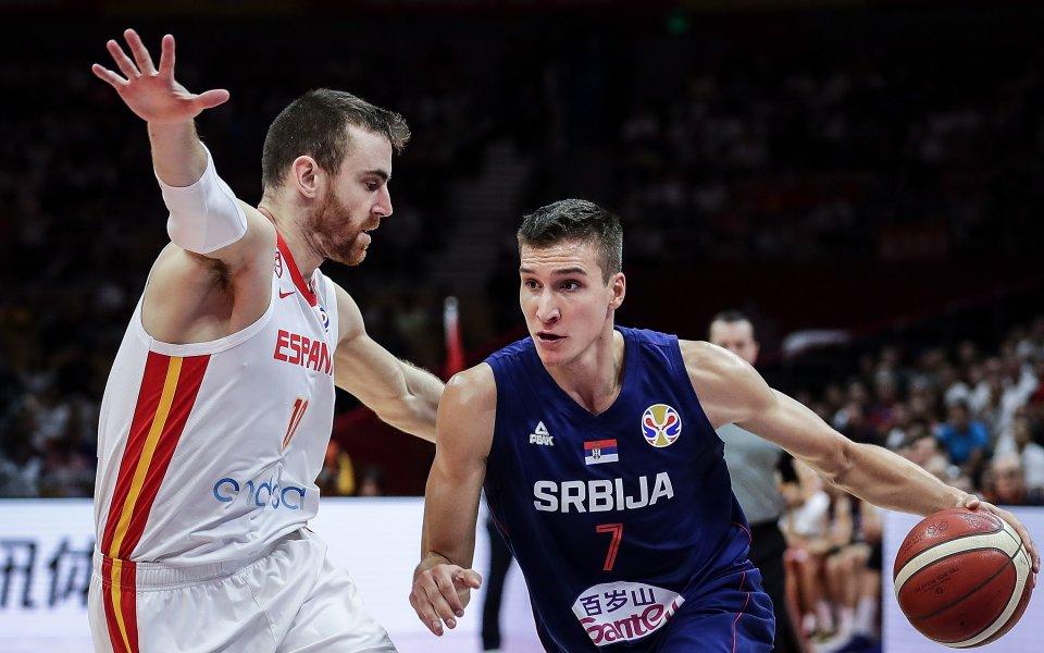 Испания изигра фантастичен мач и победи Сърбия с 81:69 в